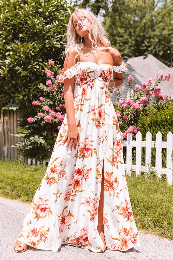 Grand Stage Floral Maxi