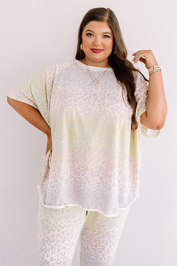 Westend Leopard Shift Tee