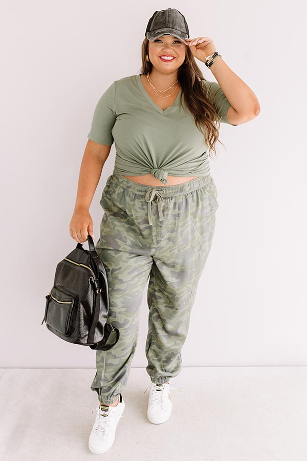 The Tryston Midrise Camo Joggers