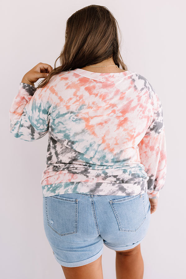 Written In The Stars Tie Dye Top