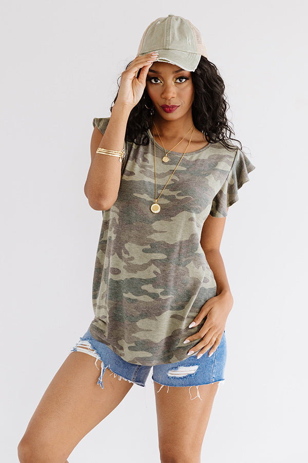 Crushin' It In Camo Tee