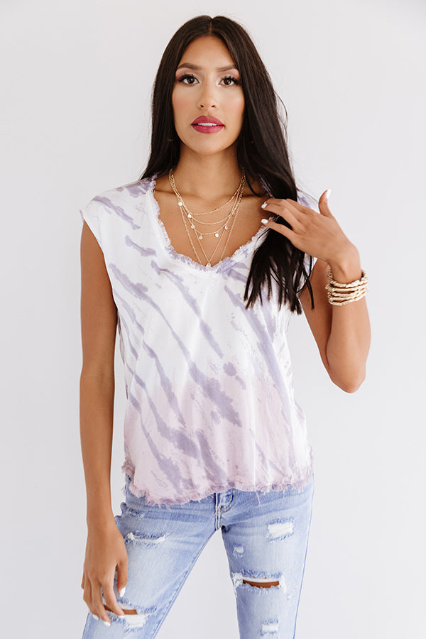 Craving Connection Tie Dye Top