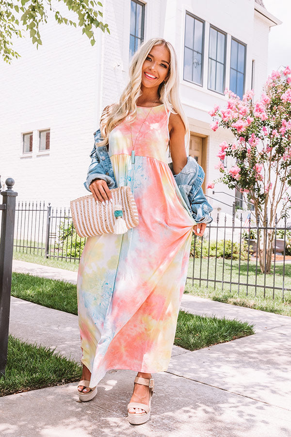 Mood Booster Tie Dye Maxi