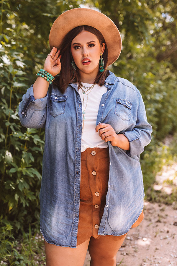 Dallas Weekend Chambray Button Up