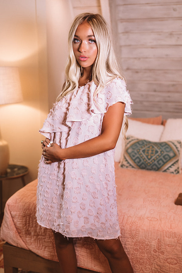 NYC Penthouse Shift Dress In Blush