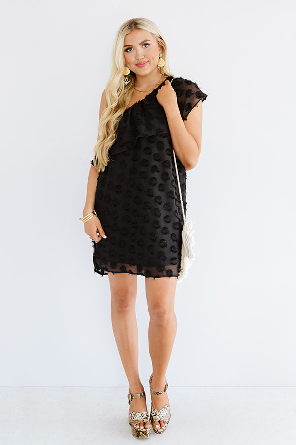 NYC Penthouse Shift Dress In Black