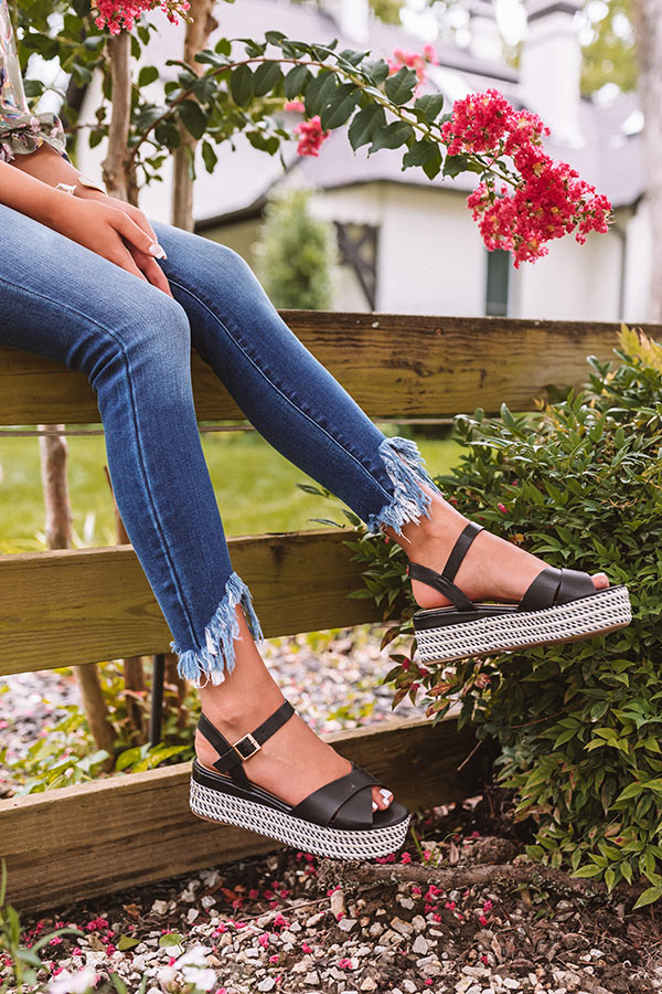The Cressida Espadrille In Black