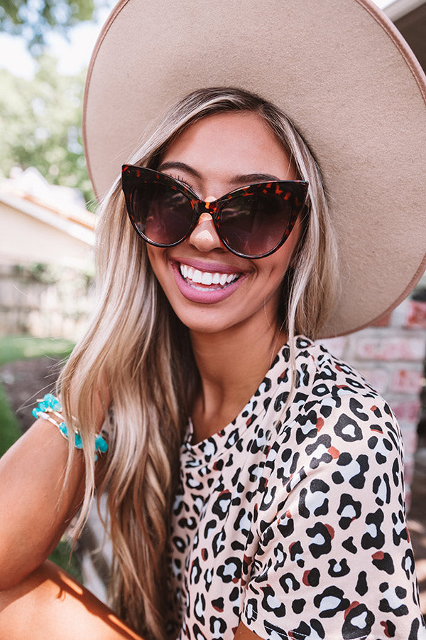CEO Of Chic Sunnies In Tortoiseshell