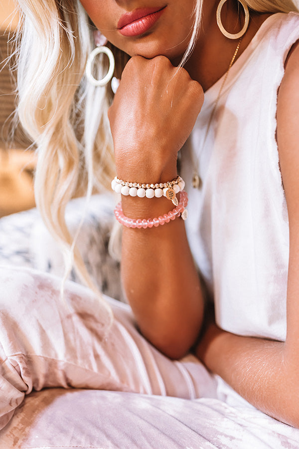 The Charlotte Stretchy Stack Bracelet Set