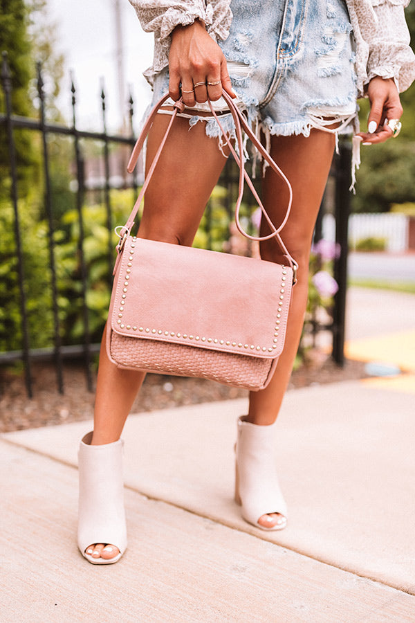Hello Sonoma Crossbody In Blush