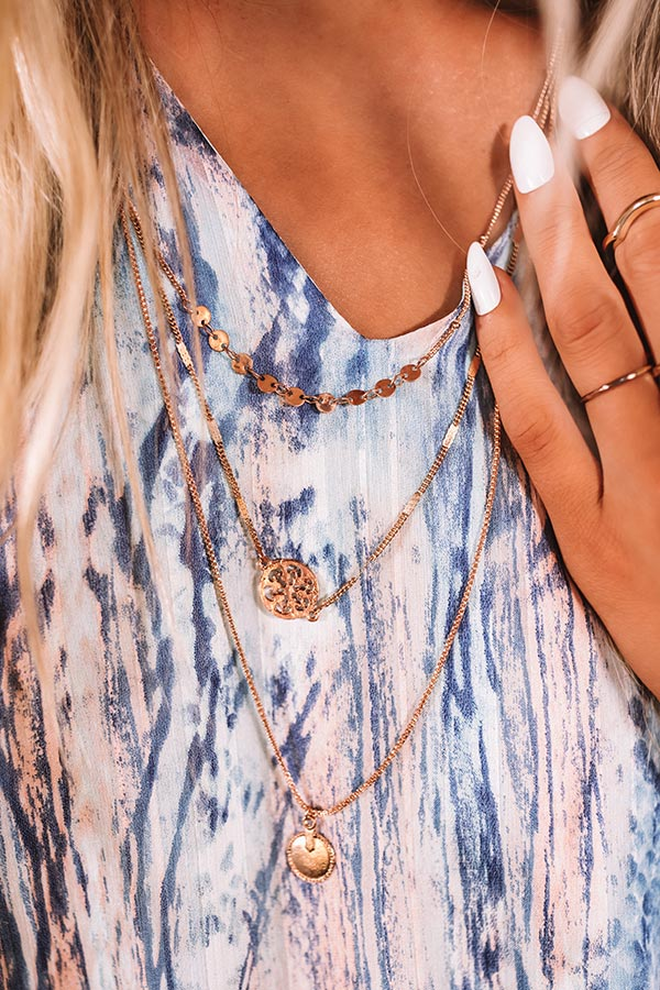 Suite Style Layered Necklace