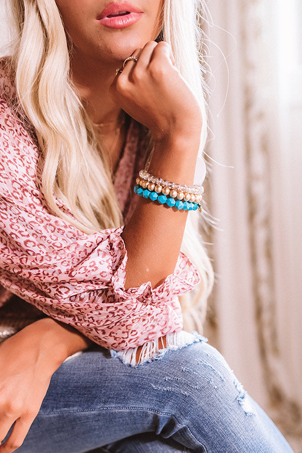 The Tina Stretchy Stack Bracelet Set