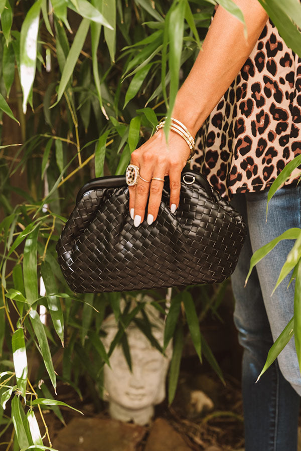 Kiss On The Chic Crossbody In Black