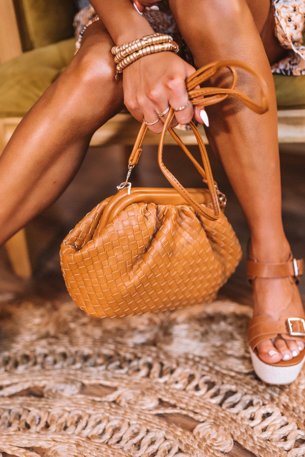 Kiss On The Chic Crossbody In Camel