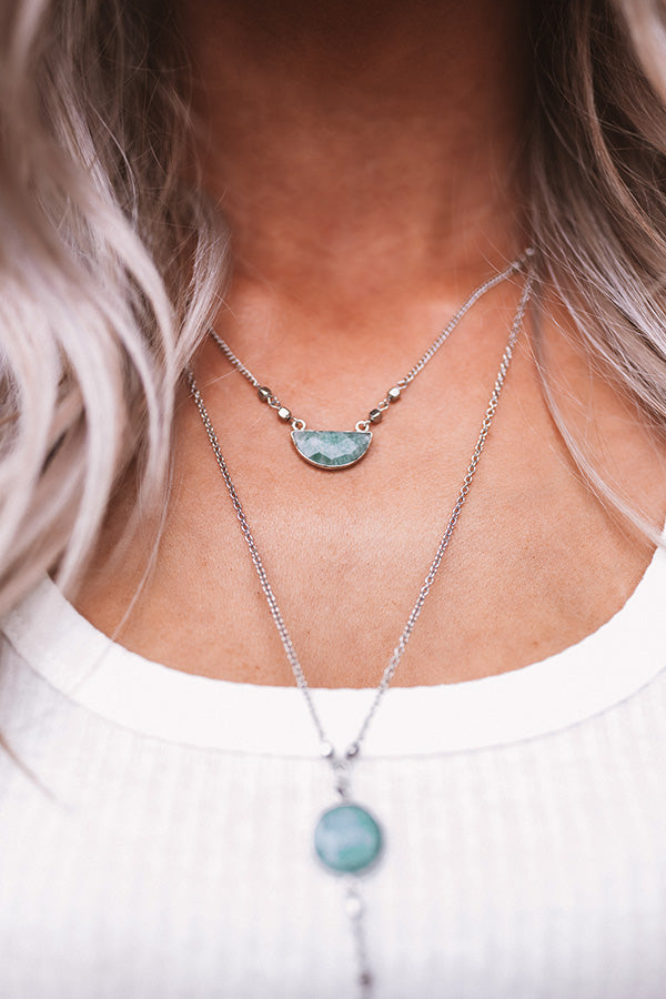 Seattle Afternoon Layered Necklace