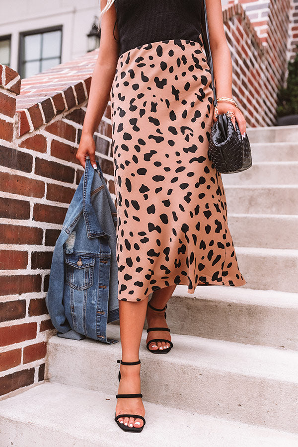 Brooklyn Balcony Cheetah Print Skirt