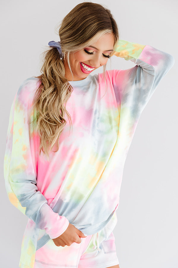 Downtime Tie Dye Top