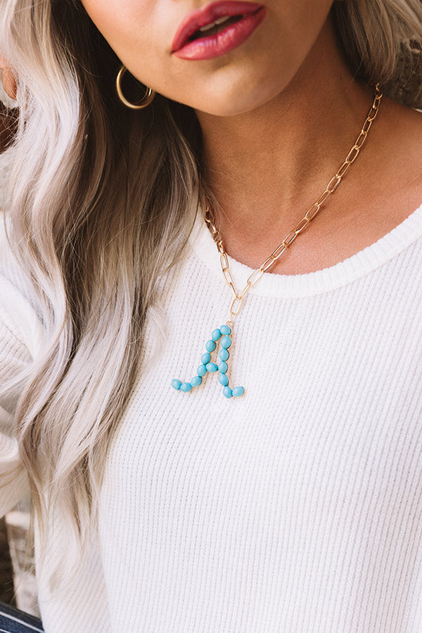 Really Lovely Initial Necklace
