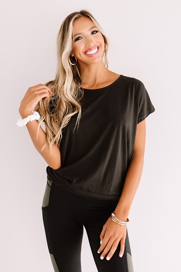 Home Base Shift Top In Black
