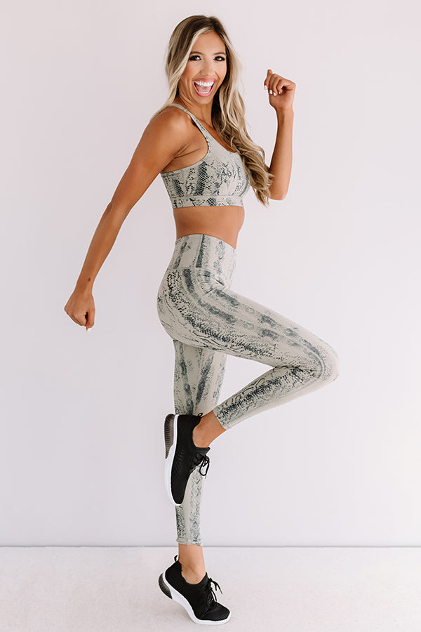 Radiating Confidence High Waist Active Legging