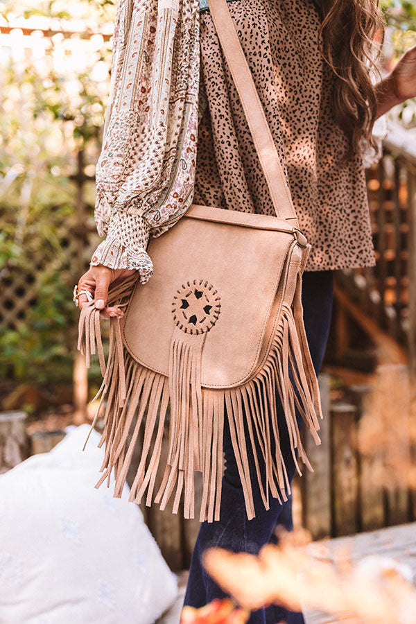 Style Bandit Leather Crossbody In Brown