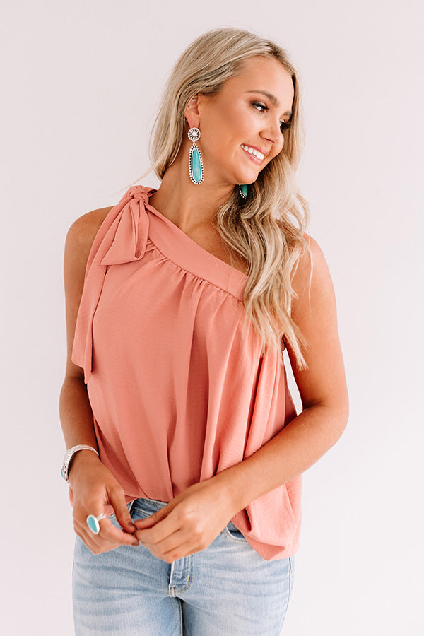 Fine Like Wine Top In Blush