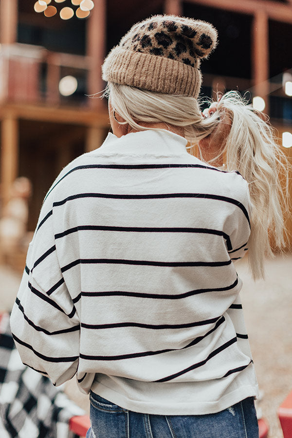 Rocky Mountain Highlights Stripe Sweater