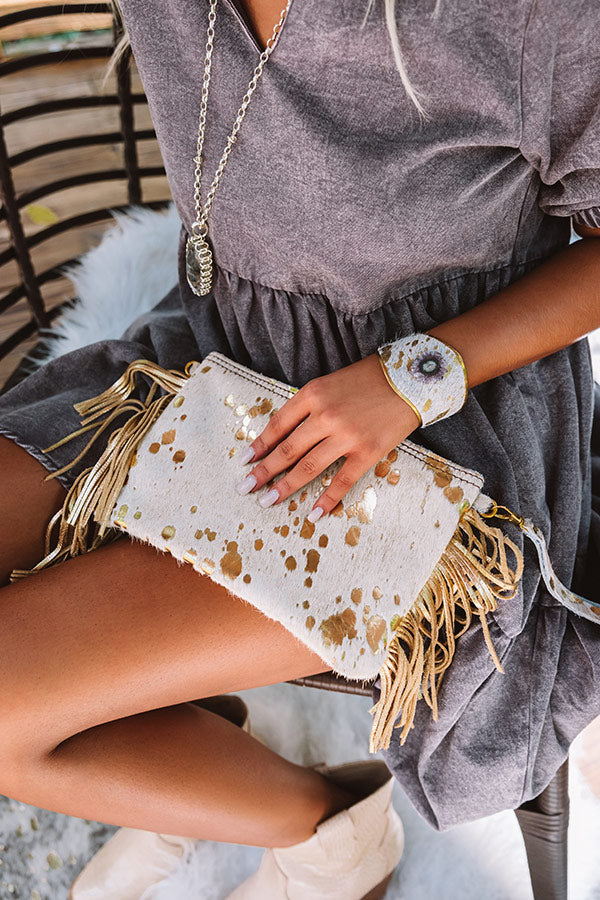 The Haven Leather Clutch