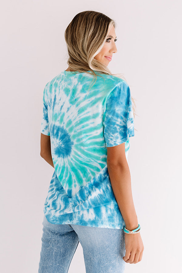 Rock And Roll Tie Dye Tee
