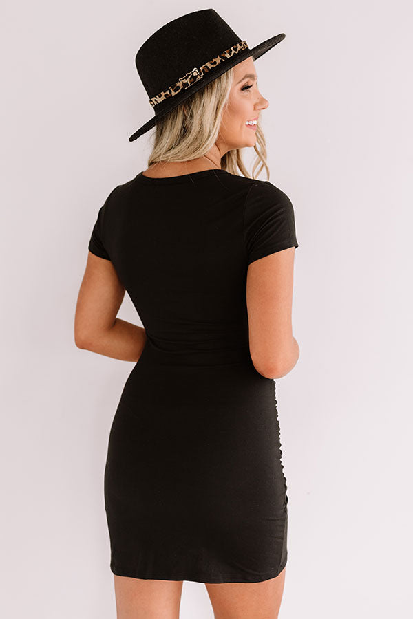Simply Clever Dress In Black