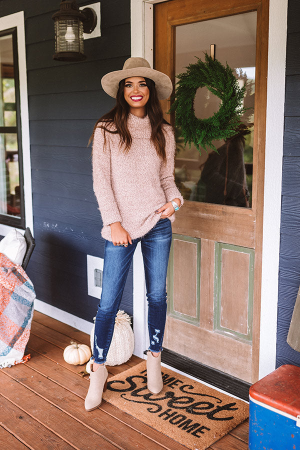 Mochas In The Mountains Knit Sweater