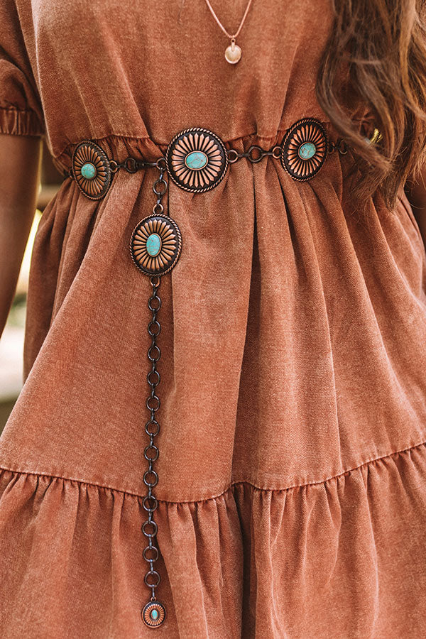 Desert Moon Concho Belt