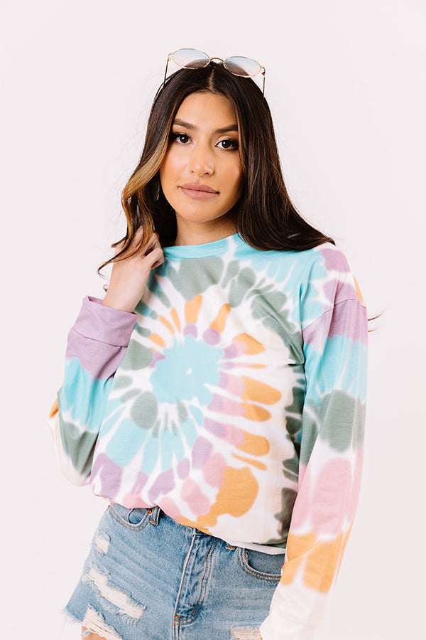Stay Kind Tie Dye Sweater