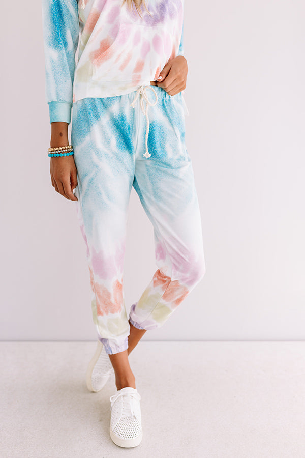 Chill With Me Tie Dye Joggers