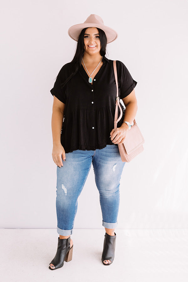 Success Story Shift Top In Black