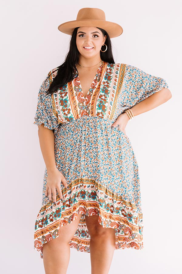 Journey To Tahoe Babydoll Dress