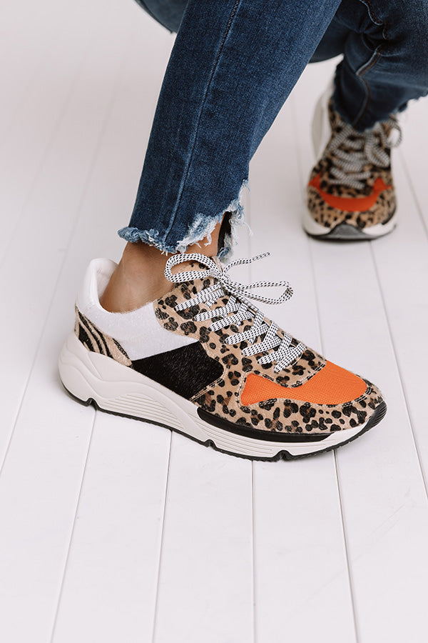 The Willow Leopard Sneaker