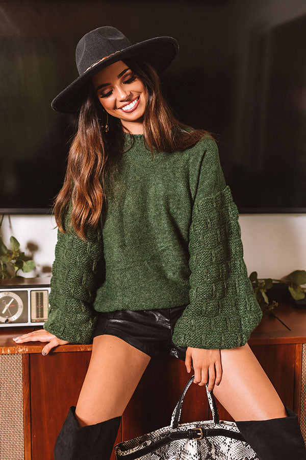 Autumn Whispers Knit Sweater