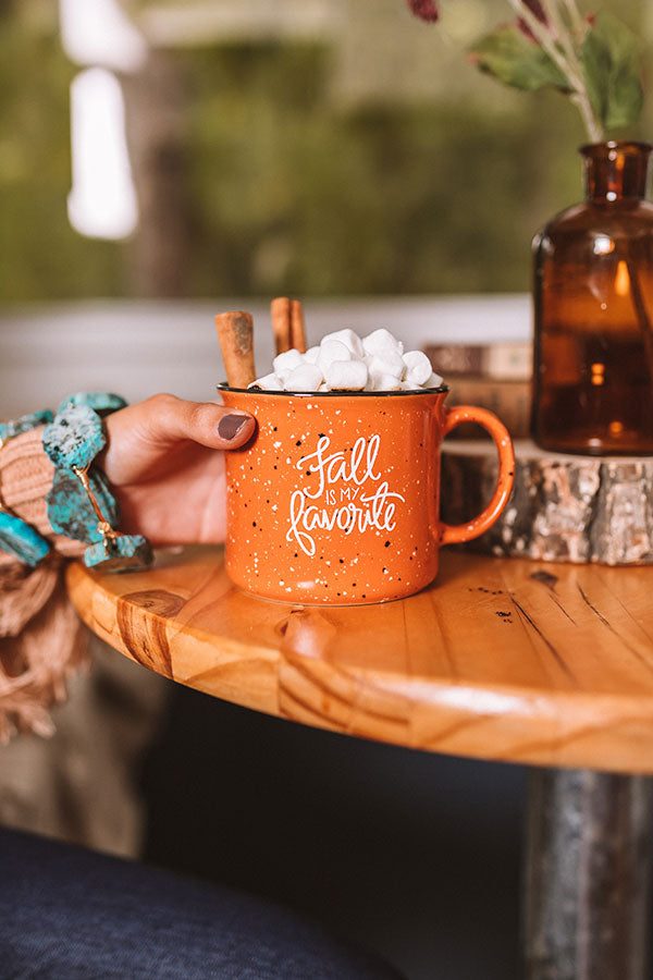 Fall Is My Favorite Ceramic Mug