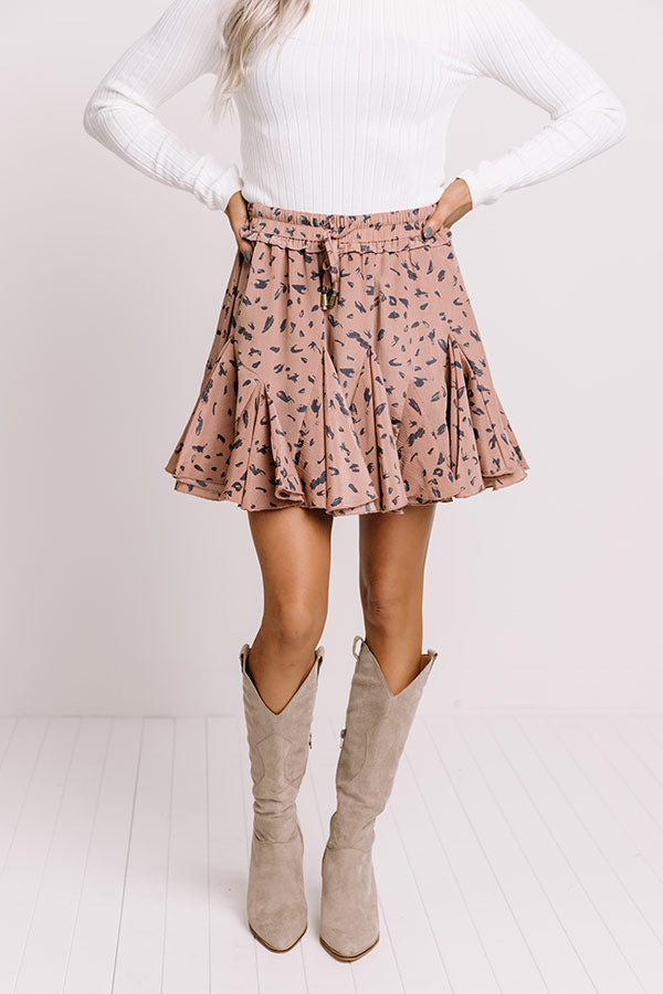 Love In Tribeca Skort In Blush