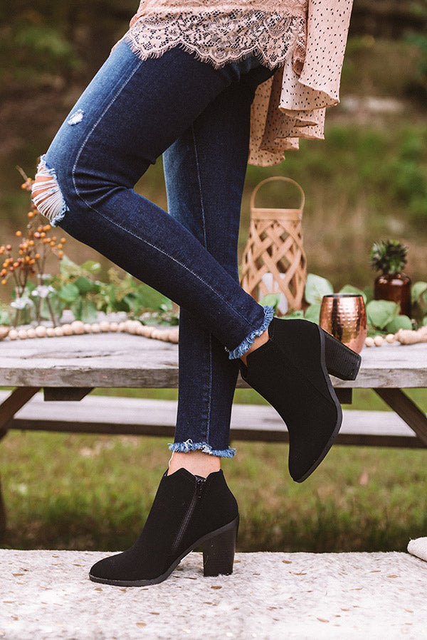 The Kasie Bootie In Black