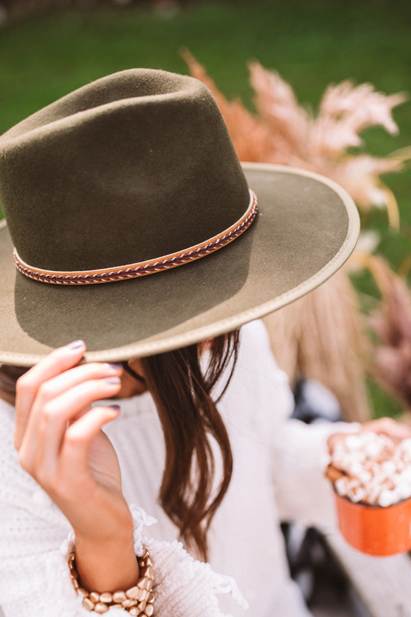 Popular Demand Wool Fedora