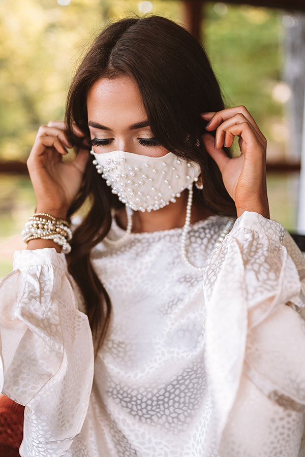 Sweet Pearl Cloth Face Mask