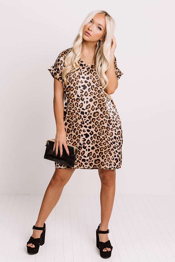 Bryant Park Bound Leopard Shift Dress