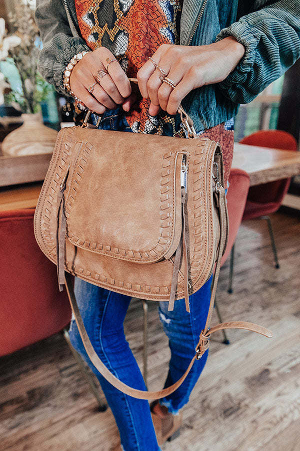 Windy City Crossbody In Brown