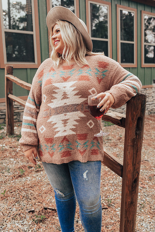 Lost In The Adirondacks Sweater In Mocha