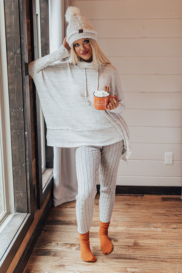 So Comforting Tunic Sweater