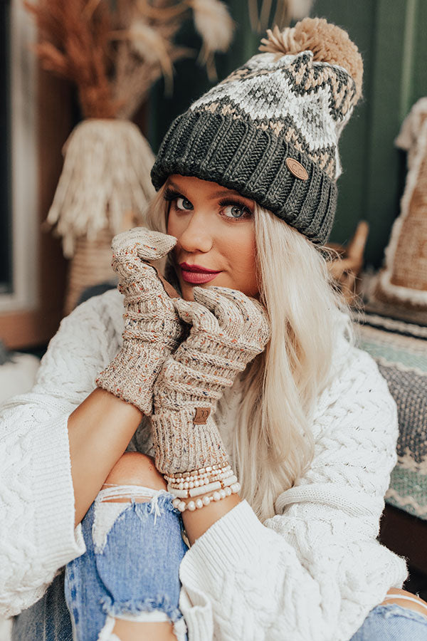 Cozier Here Knit Beanie in Forest