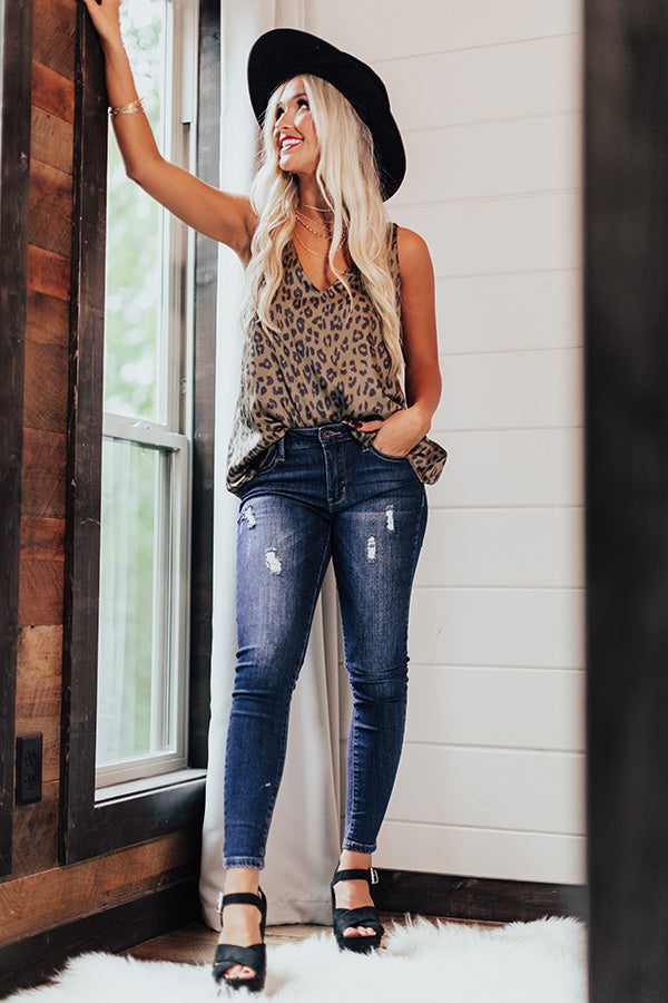 The Maisy Distressed Ankle Skinny