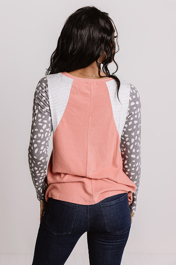 Creatively Speaking Shift Top